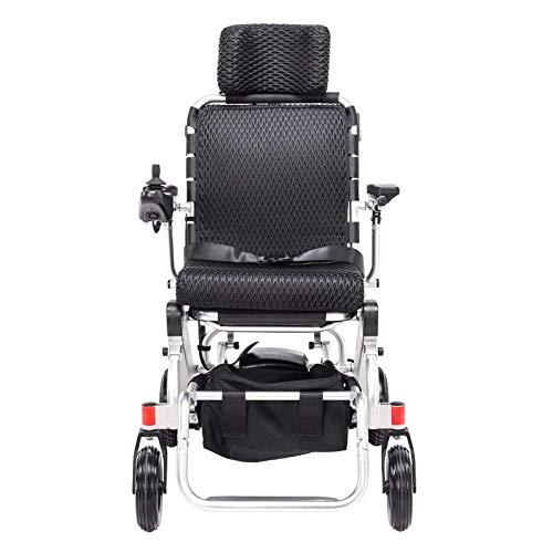 Y-L Voyager voor oudere mensen met een handicap – draagbare opvouwbare elektrische rolstoel – goedgekeurd voor vlieg- en cruise-ritten – automatische all-rad-lithiumbatterij van aluminiumlegering.
