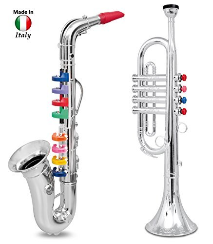 Click n' Play Set of 2 Musical Wind Instruments for Kids