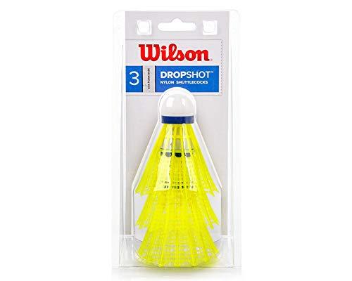 Wilson WRT6048YE Volants de Badminton, Dropshot...
