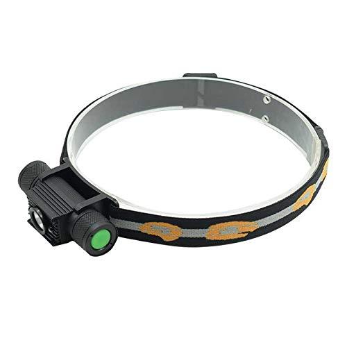 Linterna frontal LED Xm-l2, 5000 lúmenes, sensor infrarrojo, faro recargable por USB, lámpara de inducción para camping y bicicleta