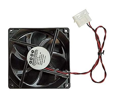 Ventilador de gabinete de refrigeración de caja axial de ordenador FourDot DC 12 voltios 4