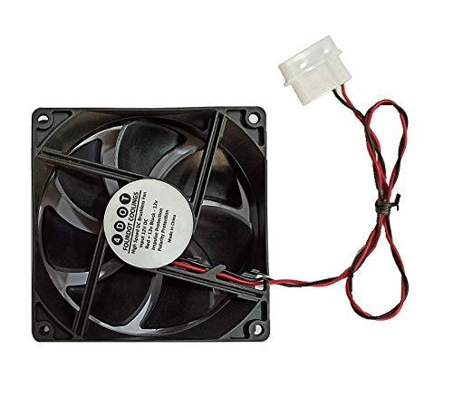 Ventilador de gabinete de refrigeración de caja axial de ordenador FourDot DC 12 voltios 4 '92 mm 9.2 cm ventilador de alta velocidad con conector Molex SMPS