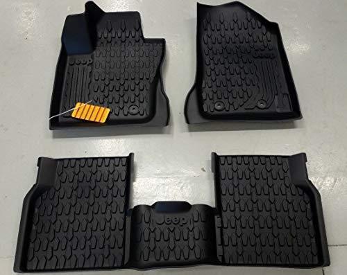 Mopar K82214651AC Tapis avant et arrière en caoutchouc, d'origine