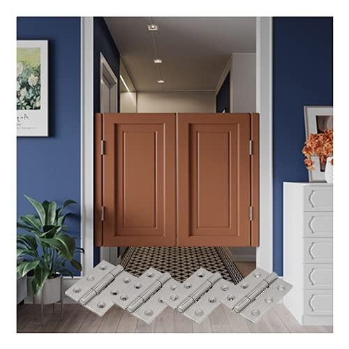 Puertas De Café Incluye Bisagras Puerta Batiente De Oscilación Del Salón Madera Maciza De 2 Paneles Bisagras De Acero Inoxidable Prefabricados Para Decoración De Interiores, Cortar