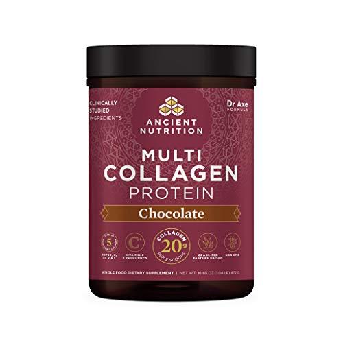 Ancient Nutrition Multi Collagen Protein Powder Chocolate 524 Grams