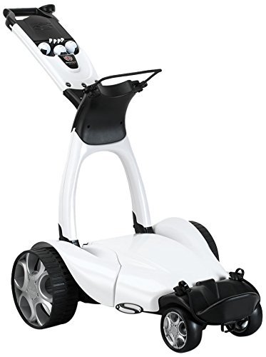 Stewart Golf X9 Follow - Carro de Golf eléctrico, Color Blanco Perla, Talla n/a