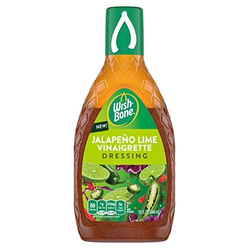 15-Oz Wish-Bone Jalapeno Lime Vinaigrette Dressing $1.90 w/ S&S & More + Free S&H w/ Prime or $25+