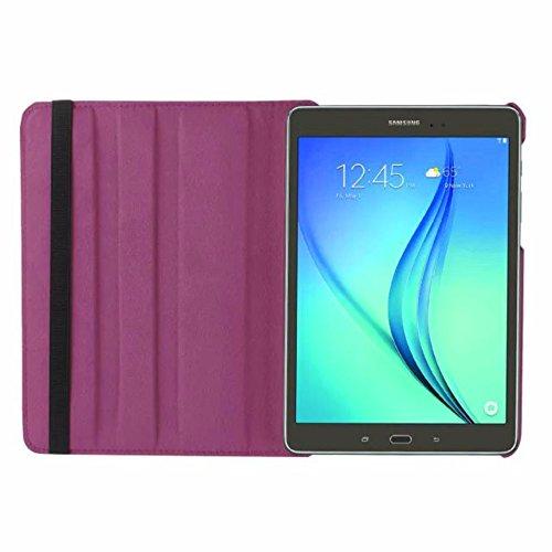 Tasche für Samsung Galaxy Tab S2 9.7 SM-T810 T811 T813 T815 T819 9.7 Zoll Schutz Hülle Flip Tablet Cover Hülle S 2 (Lila) Neu