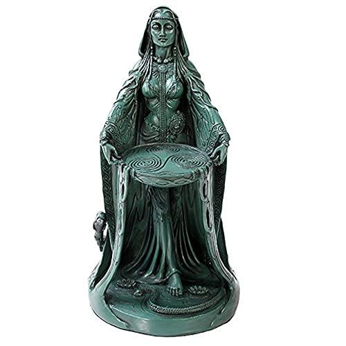 Irish Triple Goddess Danu Figurine Don Divine Feminine Source Wisdom Wealth Strength Statue