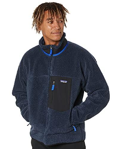Patagonia Mens M's Classic Retro-X Jkt Sweatshirt, New Navy, L