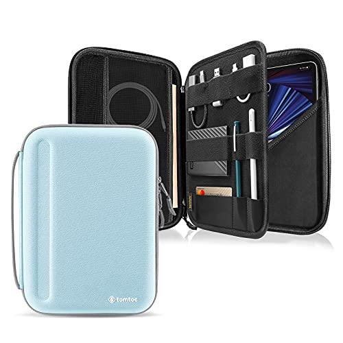 tomtoc Custodia per iPad Pro 11  2021-2018 (3a 2a 1a generazione), iPad Air 4 da 10,9 , iPad 8 da 10,2 , Samsung Galaxy Tab, accessorio PadFolio Custodia protettiva per Magic Keyboard, penna, cavo