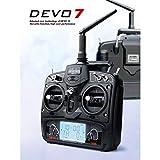 Walkera Devo-7 Controller Radiocomando per Drone, Nero