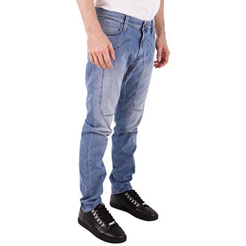 JECKERSON Jeans Uomo Denim Light Blu
