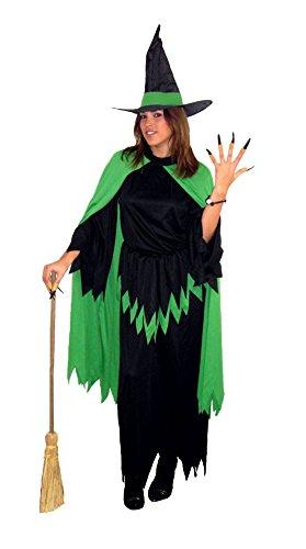 Carnevali Strega Verde Costume Adulto