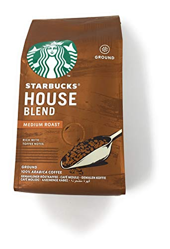 Starbucks House Blend Coffee Ground 200g - Pack of 2