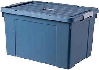 Lpiotyucwh Paniers et Boîtes De Rangement, Boîte de rangement à grande capacité Vêtements en plastique ménagers Boîte de r...
