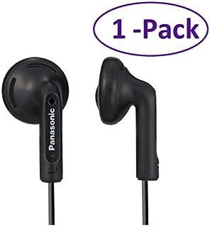 1-Pack Panasonic RP-HV096 Black Stereo Earphones