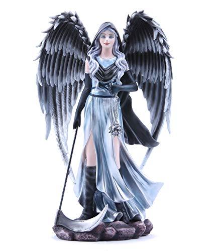 Les Alpes Angelo YALA, 34cm, Collezione Guardian Angels - Statuetta Figura Dipinta a Mano - Scopri la magia - 044 181