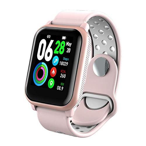 SAILORMJY Fitness trackers, Smart Band,Fitness horloge,Bluetooth verbinding met gezondheid monitoring, informatie push, slaap analyse, stappenteller voor android platform, Apple iOS platform E