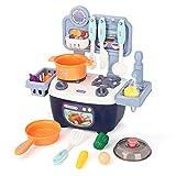 LBLA Cocina Infantil y Comida de Juguete,Juguete de Cocina Set,Mini Cocina de Juguete Set Juegos de...