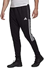 adidas mens Tiro 21 Track Pants Black/White X-Large