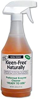 Kleen-Free Naturally Preformed Enzyme Cleaner (Original, 24-Ounce Ready-to-Use Spray)