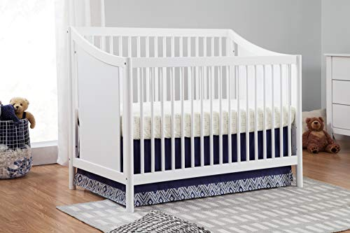 Carter's by DaVinci Hayley 4-in-1 Convertible Crib, White