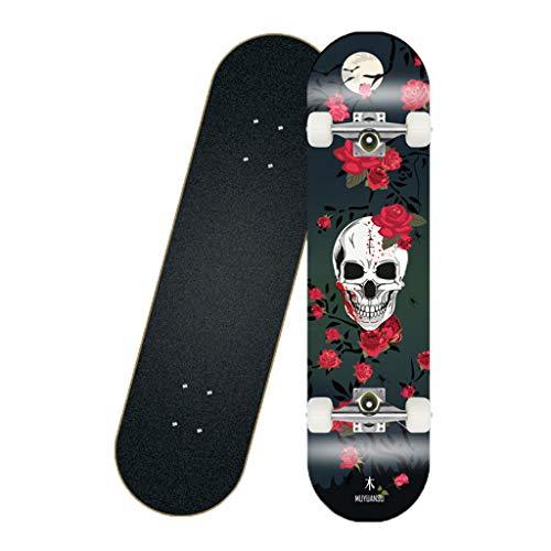 LIOOBO 5 pz Plastica Mini Skateboard Giocattolo Deck Truck Finger Board Skate Park Boy Kid Regalo dei Bambini Colore Casuale