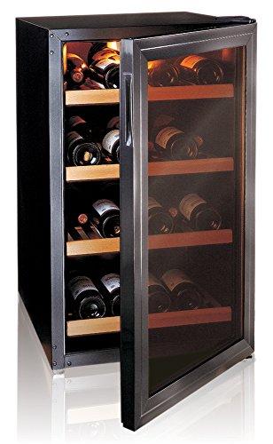 Ip Industrie - Cantinetta refrigerata con porta in doppio vetro 4 ripiani capienza complessiva di 32 bottiglie