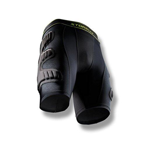 Storelli BodyShield Unisex-Torwart-gepolsterte Shorts 1.0   Wattierte Fußball-gepolsterte Kompressionshose   Verbesserter Schutz des Unterkörpers  