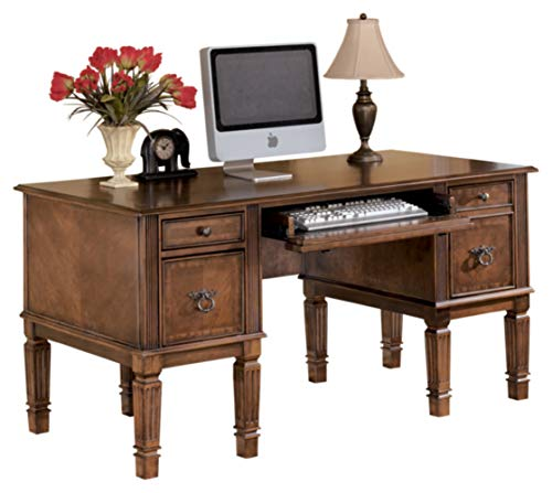 Signature Design by Ashley Hamlyn Traditional Home Office Desk with...