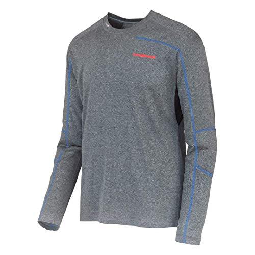 Trango TRX2 Wool - Camiseta Interior para Hombre, Color Negro/Azul Royal, Talla S