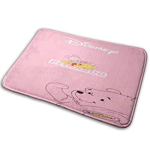 LVOE TTL Winnie The Pooh Pink Schwein-Indoor Outdoor-Eingang Teppich Fußmatten Schuhschaber Anti-Rutsch 15,7x23,5 Zoll