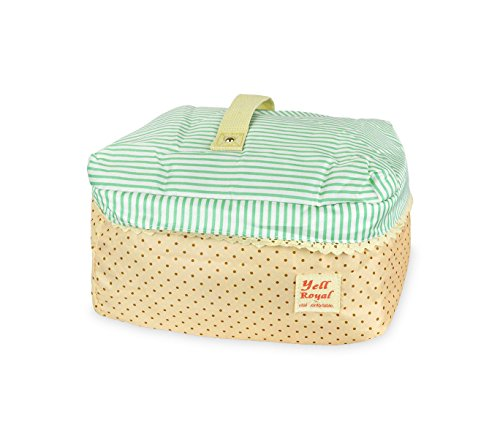 mws 2666 Beauty case da viaggio varie fantasie mod. Dolly organizer bag portatutto (Verde)