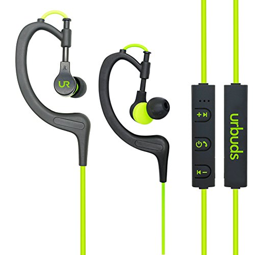 Urbuds Bluetooth Headphones 4.1 Stereo Earphones Wireless Sweatproof Sports Earbuds with Built-in Mic for iPhone and Smart Phones