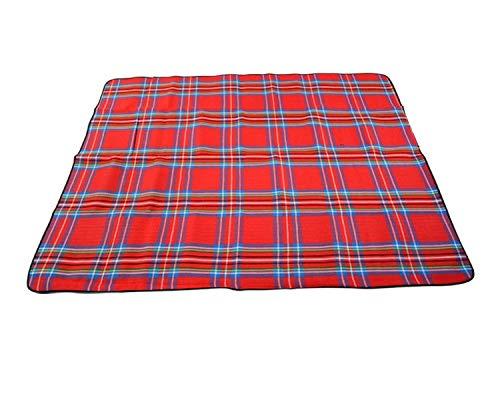 X-Labor - Manta para picnic (200 x 200 cm, tamaño XXL, con parte inferior de PEVA, aislante térmico, para la playa, camping, motivo)