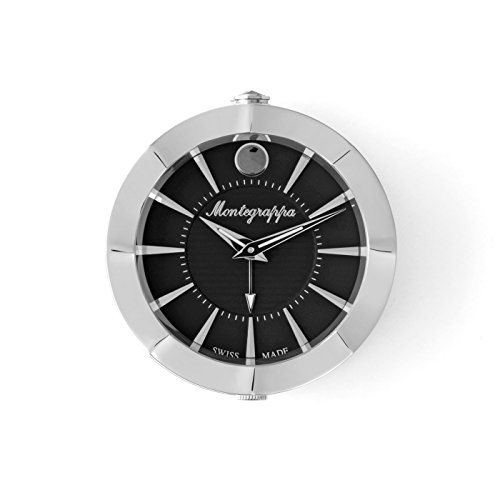 Montegrappa Clock Travel small black Dial