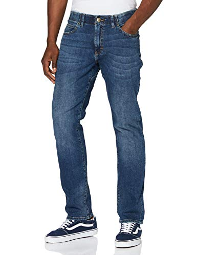 Lee Extreme Motion Straight Jeans, Maddox, 32W / 32L para Hombre