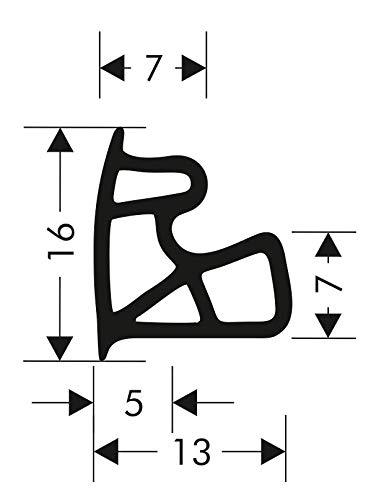 Türdichtung Stahlzargendichtung Z-557 Zargendichtung Tür Zimmertürdichtung