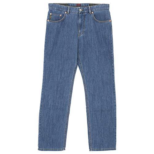 BRAX, Cooper Denim, Herren Herren Jeans Hose Stretchdenim Blue Rinse W 33 L 36 [21049]