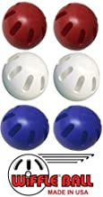 product image for Wiffle Ball U.S.A Set Includes - Official Wiffle Ball Products - Red Wiffle Ball Set, White Wiffle Ball Set, Blue Wiffle Ball Set
