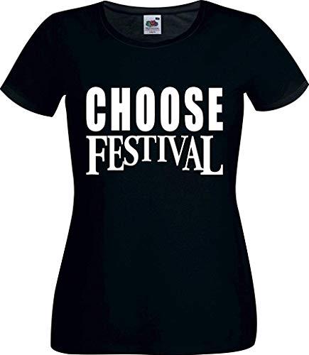 Cool hipster kleding top mode vakantie gang zomer leven kiezen festival T-shirt