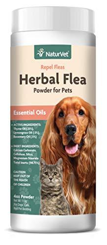 NaturVet – Herbal Flea Plus Essential Oils