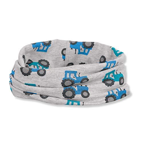 Sterntaler Baby-Jungen Allrounder Schal, Silber, 1