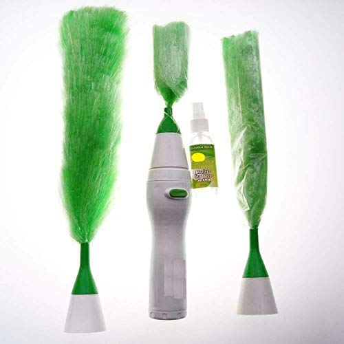 Dusters Creative Hand Held, Sward Go Dust Electric Feather Spin Home Duster Elektrisk Plumero Microfibra Dust Brush
