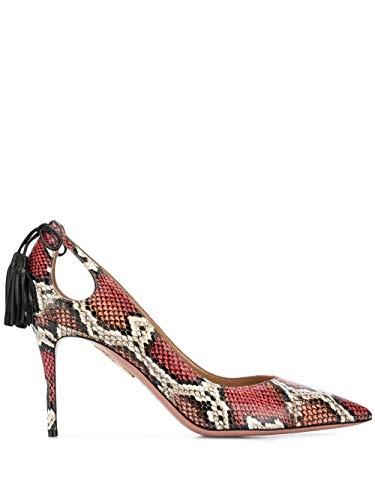 AQUAZZURA Luxury Fashion Damen FOMMIDP0KES002 Rot Pumps | Herbst Winter 19