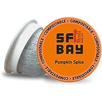 80-Count SF Bay Coffee Pumpkin Spice Medium Roast Coffee Pods