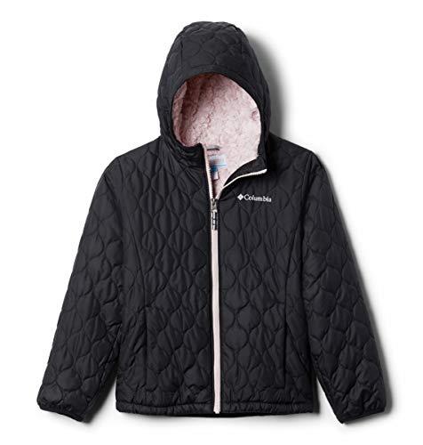 Columbia Girls' Big Bella Plush Jacket, Black, Large