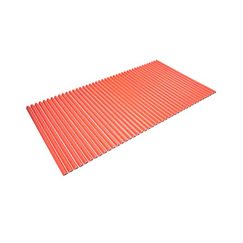 東プレ シャッター式風呂ふた 波型 カラーウェーブ 75×140cm ピンク L14