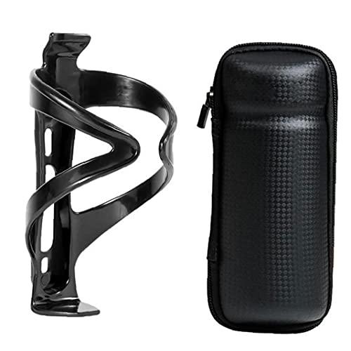 GGOOD Fahrradflasche Etui wasserdichte Bike Hard Shell Repair Tool Kit Tasche mit Halterung